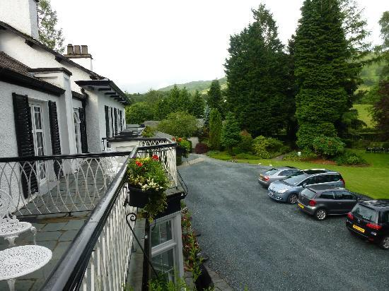 Rothay Manor Hotel: View from balcony room 6