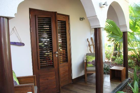 Baoase Luxury Resort: Banyan Tree Room entrance