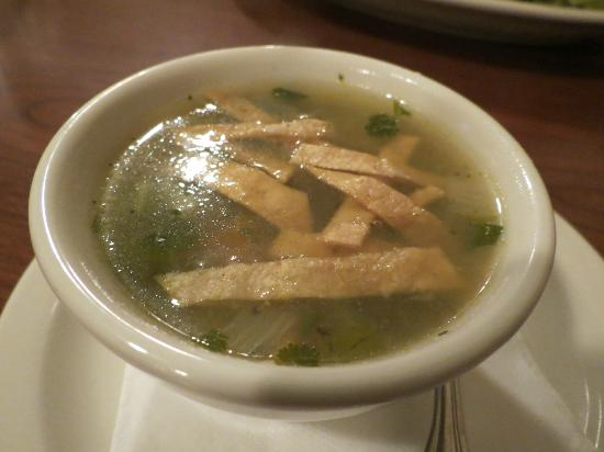 Country Inn &amp; Suites By Carlson, Portland Airport: chicken tortilla soup that came with the sandwich
