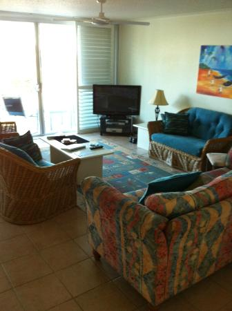 Chateau Royale Beach Resort: Loungeroom