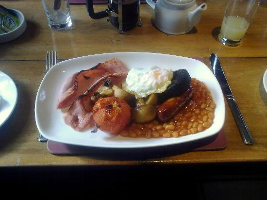 Travellers Rest Inn: A superb breakfast of real quality