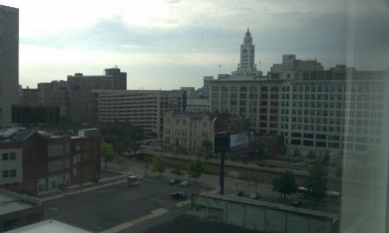 Hampton Inn Philadelphia Convention Center: view from our window