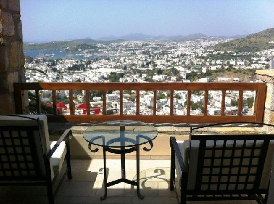 The Marmara Bodrum: view from seaview suite