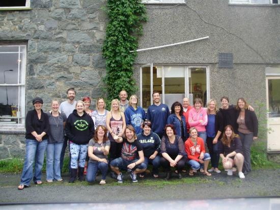 Snowdon Lodge: a great time was had by all!