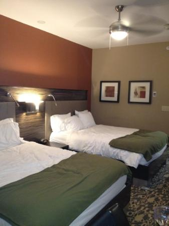 Holiday Inn Express Hotel & Suites Dallas (Galleria Area): Room w/ceiling fan