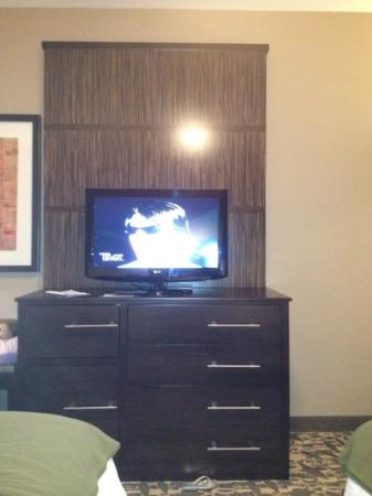 Holiday Inn Express Hotel &amp; Suites Dallas (Galleria Area): tv