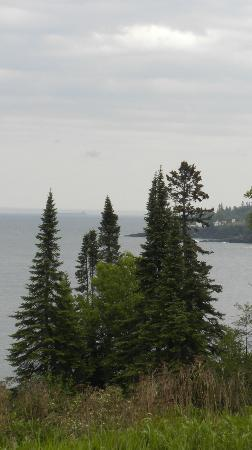 Burlington Bay Campground: Bay view