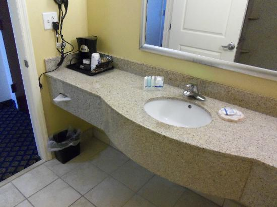 Sleep Inn & Suites: Sink and coffee maker