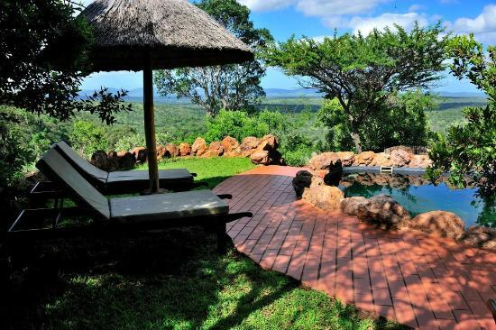 Leopard Mountain Game Lodge: Pool