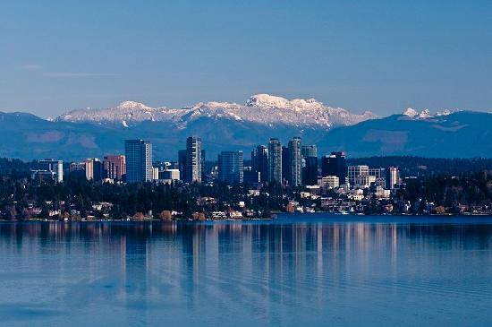 Bellevue Washington Skyline