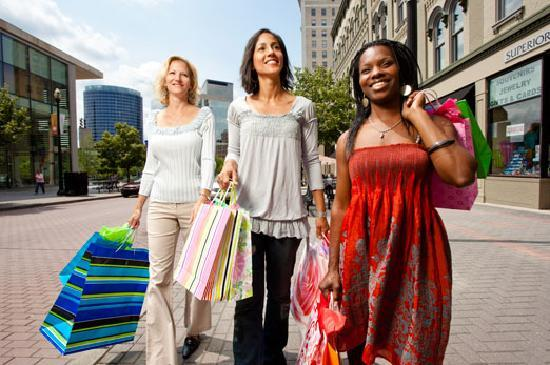 Grand Rapids, MI: Great shopping downtown, in neighborhoods and at mega-malls.