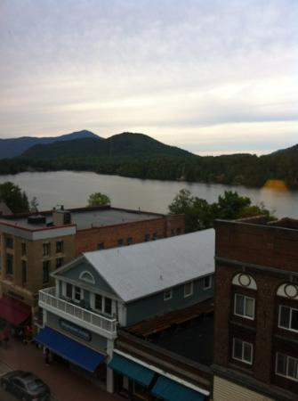 Northwoods Inn: view from hotel room!
