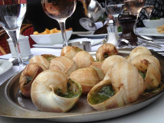 hotel escarco Don't run away screaming from this recipe please i know that it's snails we all know it's snails just stay for a while and read on, ok this delightful.