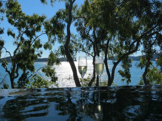 Qualia Resort: The view from the pool
