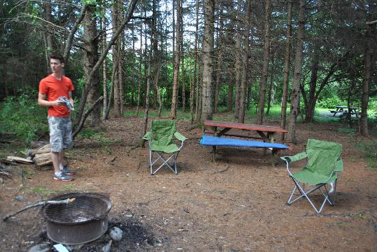 Moosehead Family Campground: Site #21