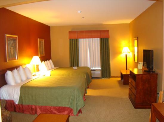 BEST WESTERN PLUS Denton Inn & Suites: Double Queen Bed