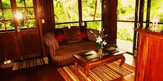 Amazing Wollumbin Palms Retreat at Mt Warning: Living area