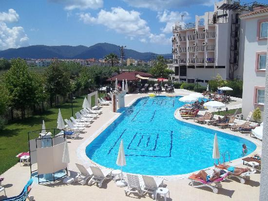 Hotel Pelin: Lovely pool view from room