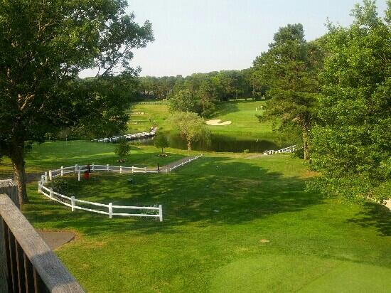 Blue Rock Golf Resort: Our view from the clubhouse apartment deck