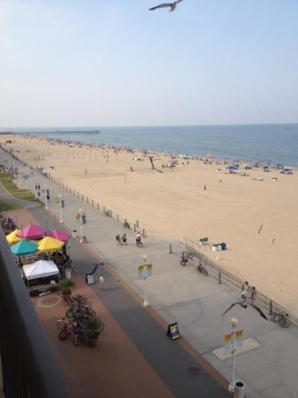 Ramada on the Beach: from the balcony