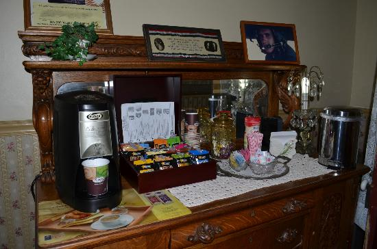 Bedford Inn: Coffie/Tea/Snacks