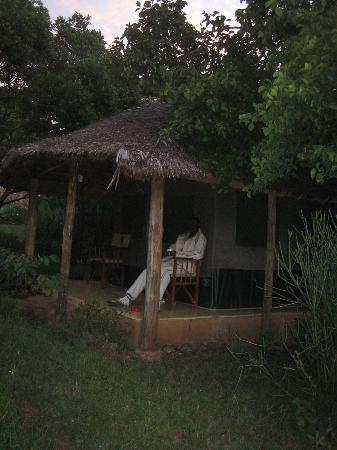 Ol-moran Tented Camp: Outside My Tent