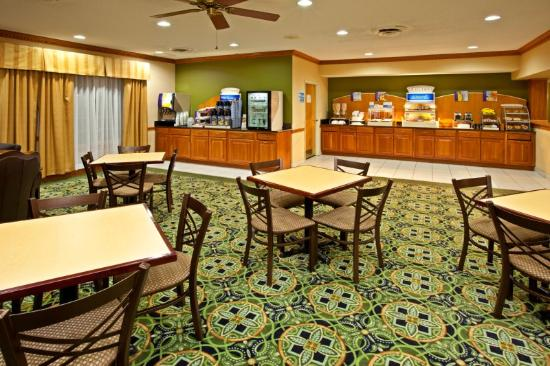 Holiday Inn Express Harrison: Breakfast Area