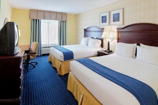 Holiday Inn Express SeaWorld: Double Bed Guest Room