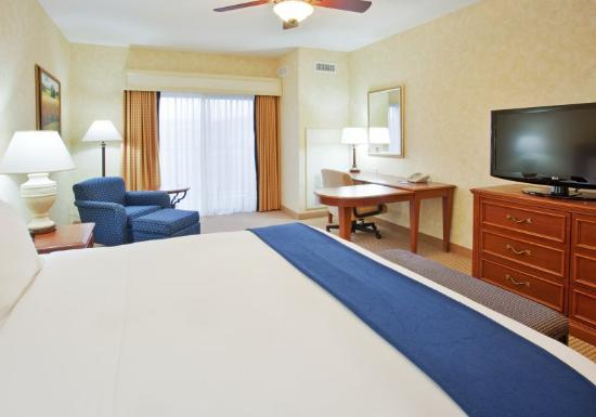 Holiday Inn Express El Dorado Hills Hotel: King Bed Guest Room