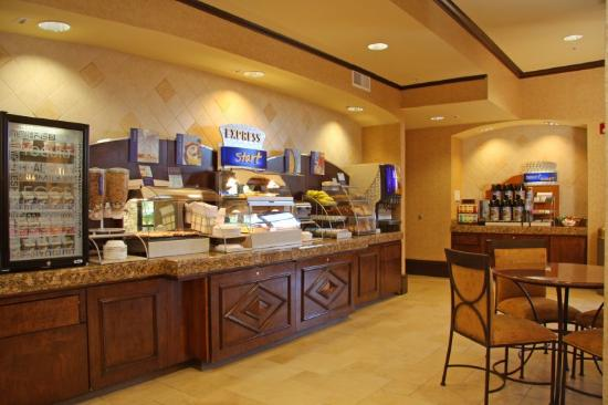 Holiday Inn Express El Dorado Hills Hotel: Complimentary Hot Breakfast Bar, featuring the new