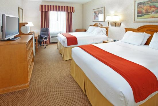Holiday Inn Express Hotel & Suites Longview-North: Double Bed Guest Room