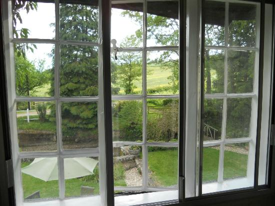 Birches Mill: View from double ensuite