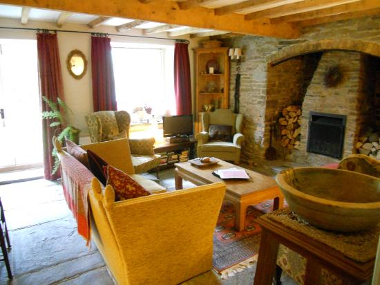 Birches Mill: Sitting room (available to B&B guests)