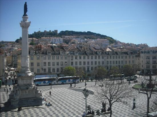 Rossio Hostel: View of the square