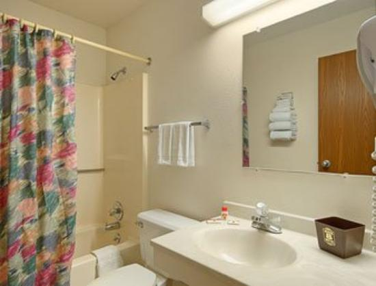 Mountain Home Super 8 Motel: Bathroom