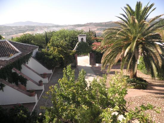 Hotel Molino del Arco: view from breakfast room