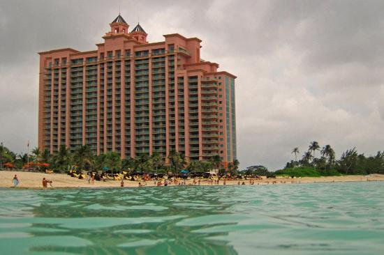 The Reef Atlantis: View from the beach
