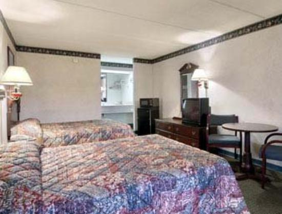 Super 8 Perry GA : Standard Two Double Bed Room