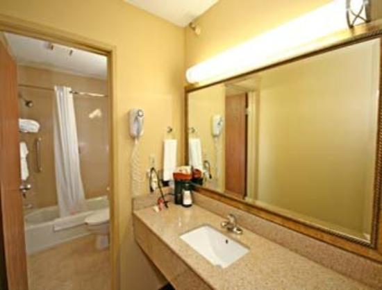 Super 8 Wilmington: Guest Bath Room