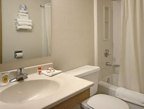 Super 8 Roseville / St Paul: Bathroom