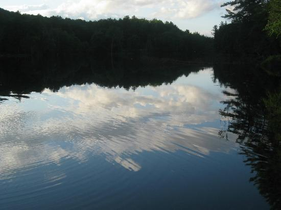Northern Outdoors Adventure Resort: view from loon cabin