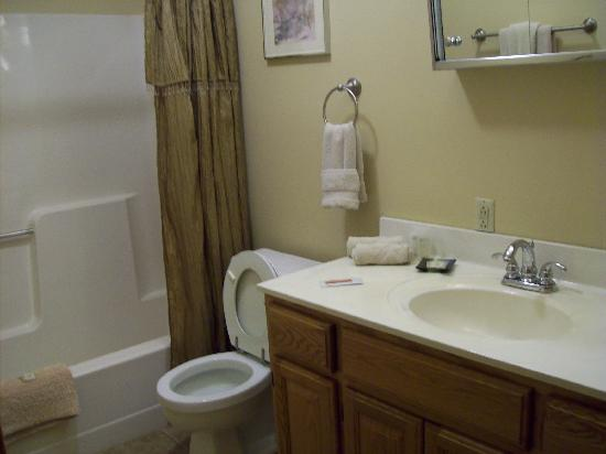 Berkeley Springs, Wirginia Zachodnia: large bathroom