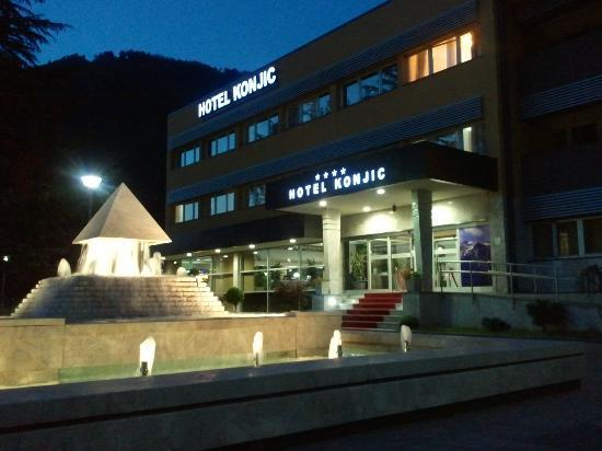 Front Of The Hotel Picture Of Garden City Hotel Konjic