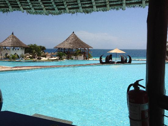 Royal Zanzibar Beach Resort: Four Beautiful Swimming Pools!