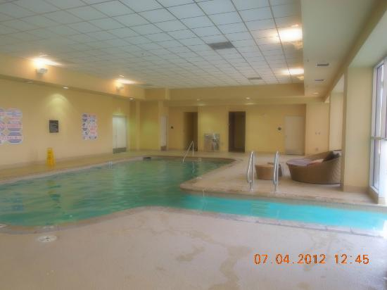 Indoor part of pool picture of platinum hotel and spa las vegas tripadvisor for Indoor swimming pools in las vegas