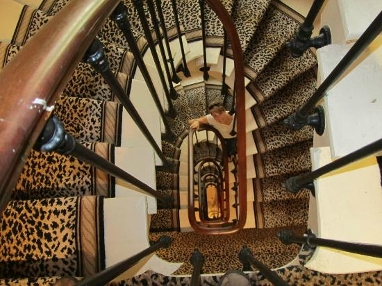 Royal Magda Etoile Hotel: Fabulous staircase