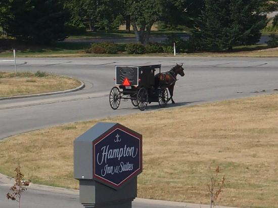 Hampton Inn & Suites Middlebury: Typical Transportation constant by this hotel.