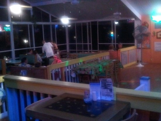 Dining area near dance floor picture of r beach for Flooring near my location