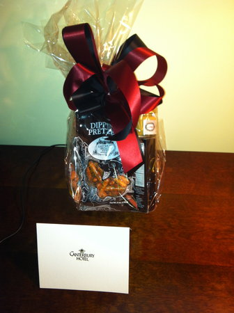 Canterbury Hotel: Unexpected Gift!