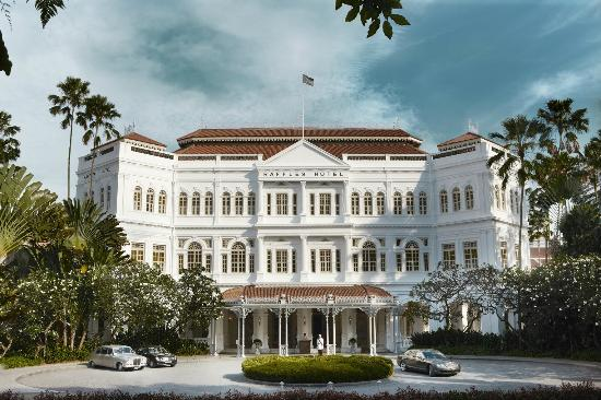 Raffles Hotel Singapore - Facade